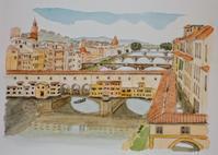 イタリアの旅:フィレンツェ(1) - オヤジの水彩画集