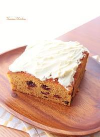 春にんじんのケーキ。 - Heaven's Kitchen