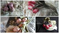 素材で季節感を楽しむお花づくり♪ - 愛知 豊橋 布花アクセサリーCendrillon