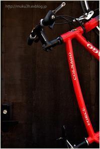 赤い自転車 - muku3のフォトスケッチ