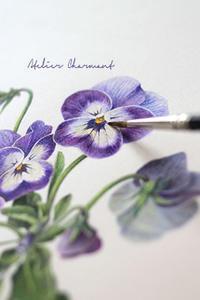 デモンストレーション開催(東京八重洲ブックセンター) - Atelier Charmant のボタニカル・水彩画ライフ