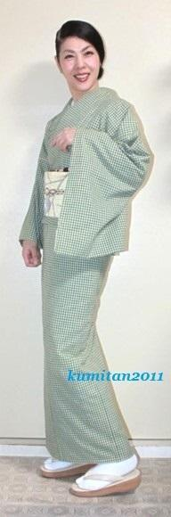 今日の着物コーディネート♪(2017.4.25)~木綿着物&博多帯編~ - 着物、ときどきチロ美&チャ美。。。お誂えもリサイクルも♪