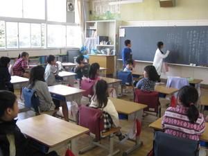 4月25日 縦割り班活動 - 大好き 西条小学校