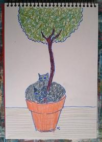 Day8 ドゥブロヴニク最終日は曇り - たなかきょおこ-旅する絵描きの絵日記/Kyoko Tanaka Illustrated Diary
