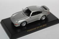 1/64 Kyosho PORSCHE 4 911 RS [993] - 1/87 SCHUCO & 1/64 KYOSHO ミニカーコレクション byまさーる