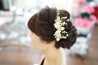 結婚式のヘアアレンジ(ヘアセット)をさせてもらいました(*^_^*) - 浜松市浜北区の美容室 SKYSCAPE(スカイスケープ) 店長の鶸田(ひわだ)のブログです