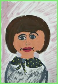 4/23 子供アート教室 ~自画像~と、美術館に行くことについて - miwa-watercolor-garden
