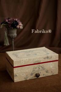 卒業制作・オリジナル作品できました!・1 - Fabrikoのカルトナージュ ~神戸のアトリエ~