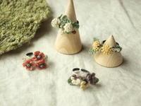 指輪、髪飾り、春の花たくさん - Chi・Chiのてしごと日和