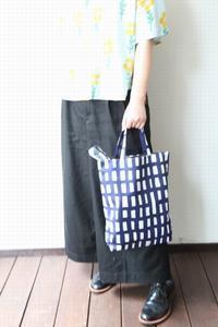 雨模様に楽しく持てる mina のバッグ♪ mina perhonen ミナペルホネン sora check ソラチェック - TIMESMARKETのスタッフ日記