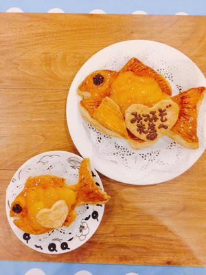 鯛型のアップルパイ。 - 三溝清美 Cooking Studio La Cucinetta
