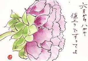 春の絵手紙 パート2 - おばちゃん遍路1人旅