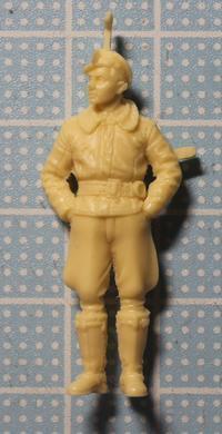 Hasegawa 07447 1/48 Oberleutnant Erich Hartmann - Post-Retirement Modelling Life