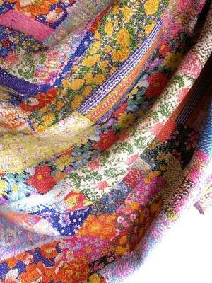 インドの布展@Boulangerie le matin de la vie /Galerie - Sindu *インドのいろ