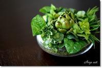 見ているだけでヘルシーなハーブと野菜のアレンジメント - Arys style  「整える」くらし