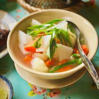 根野菜のベトナム風スープ - れしぴこ的 無駄なあがきっ!