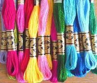 刺繍糸 - 空飛ぶ絨毯