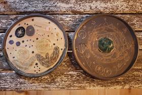 ③土の種さん:絵皿・小鉢・カップ・いろいろ編 - 器とくらしの道具ハクトヤ