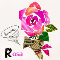Rosa バラ - K e  i  k  o     A  o  i  イ ラ ス ト 日 記