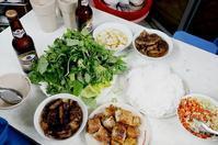 2017.1 新春ベトナム・ハノイの旅 vol.3 ~1食目はもちろんブンチャー 「ブンチャー ダック・キム」 - 晴れた朝には 改