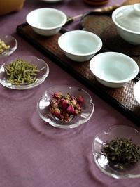 お楽しみの中国茶 - お茶をどうぞ♪