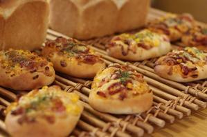 湯だねパン2種類レッスン - おうちパン教室moko島根県出雲市