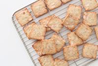 アーモンドとチーズの塩味のクッキー - フランス菓子教室 Paysage Calme