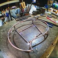 ツタの表札制作 - Studio fu-mine Copper Works