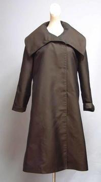 撥水加工のシルクのコート - 私のドレスメイキング