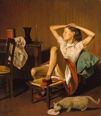 第37回《〜これまで誰も教えてくれなかった〜『絵画鑑賞入門講座』》 20世紀最後の巨匠 バルテュス - ルドゥーテのバラの庭のブログ