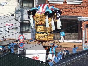地元回りをする川西地区太鼓台 - ZENさんの太鼓祭りブログ