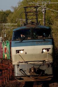 兄弟機。 - 山陽路を往く列車たち