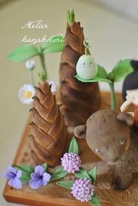 5月の作品 金太郎さん - 大きな栗の樹の下で