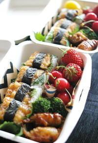 今日の鰯押し寿司弁当とお弁当作りのコツ - sweet+
