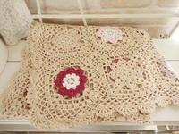 cotton 大きなお花ブランケットの素敵な画像が届きました* - Natural style*