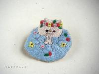 刺繍ブローチ*エキゾチックショートヘア各種 - マルチナチャッコ