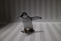 写真「五線譜とヒゲペンギン」 - 物書きkumaさんの創作日和
