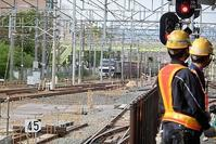藤田八束の鉄道写真@EF65形式貨物列車が大好き、新大阪駅にて・・・貨物列車桃太郎も大好き頑張る姿が魅力的 - 藤田八束の日記