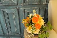 今日の花束 お誕生日とご結婚祝い - 北赤羽花屋ソレイユの日々の花