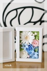 フォトフレーム レッスン* Wedding gift - Flower letters