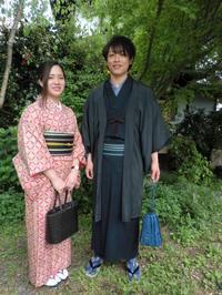 爽やかな日に、散策も楽しく。 - 京都嵐山 着物レンタル&着付け「遊月」