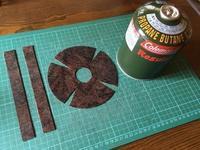 OD缶(アウトドア用LPガス缶)カバー DIY 第2弾 - NILE Saloon Diary