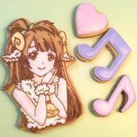 ◆ラブライブ!ことりちゃんのアイシングクッキー - まんなのお菓子工房