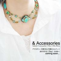 & Accessories   アクセサリーと写真のカルテット   - Nico  ちいさな編み物たち