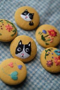 刺繍ブローチ - 夢子さんのミシン
