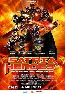 日本インドネシアが合作の映画:Satria Heroes: Revenge of Darkness 来月公開 目標は100万人 - exblog ガドガド