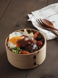ロコモコ丼弁当 - Delicatusib