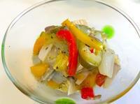 野菜とキノコ・鷄ムネ肉のオレガノ風味【マリネ】 - ロックなカメリエーレが作る【男のプチ本格料理】レシピ