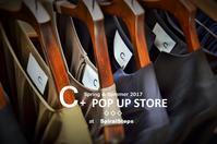 """""""佳境を迎える~C+ POP UP STORE...4/28fri"""" - SHOP ◆ The Spiralという館~カフェとインポート雑貨のある次世代型セレクトショップ~"""
