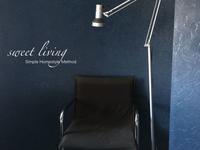 寝室に落ち着きの読書スペース♪ - sweet living  シンプルで快適な暮らし